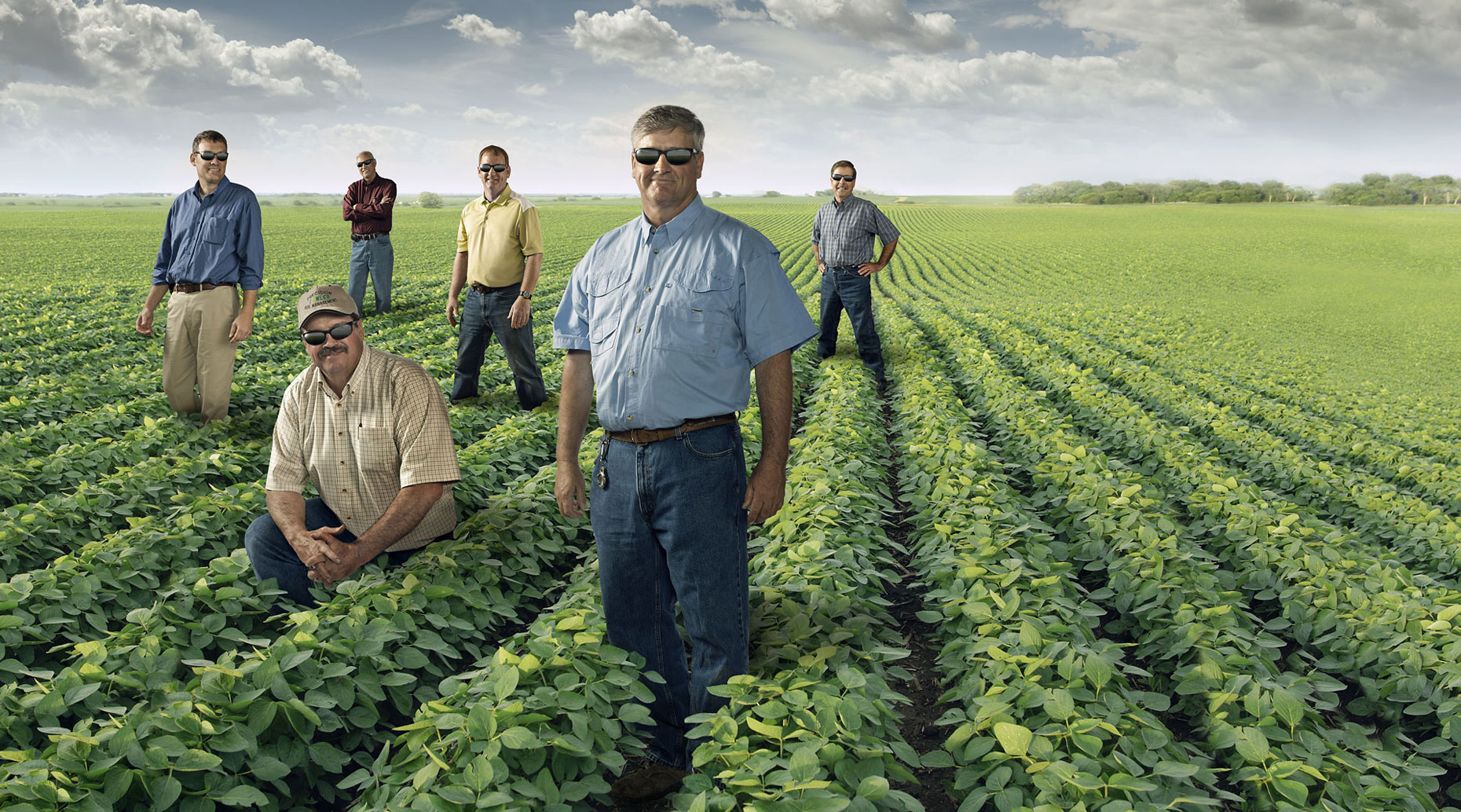 BayerCrop Science agronomists group portrait