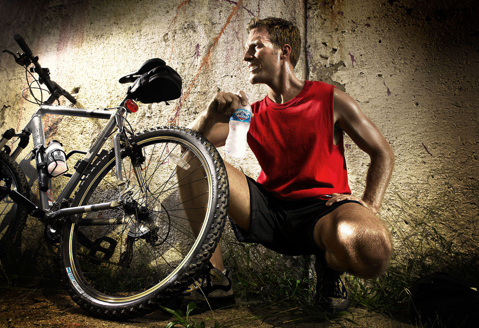 Bike Water_001| Robert Randall Advertising Photographer, Commercial Photographer, CGI, Portrait, and Lifestyle Photography