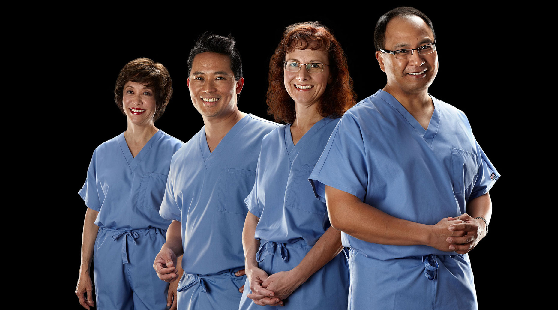 Doctors from Elmhurst Memorial Hospital.